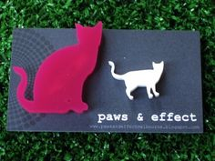 SET - 1 Large Dog or Cat Brooch & 1 Small Dog or Cat Brooch - Create Your OWN SET. $32.00, via Etsy.