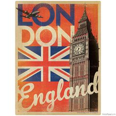 London England Big Ben Wall Decal by RetroPlanetUSA on Etsy, $12.99