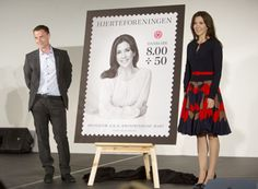 Princess Mary adds to her stamp collection