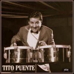 """Ernesto Antonio """"Tito"""" Puente """"El Rey del Timbal"""" (Muere un 31 de Mayo del año 2000 en Nueva York, USA). (77 Años). Legendario Timbalero, Vibrafonista, Arreglista, Productor y Director musical de su propia Orquesta. Su magnífico aporte fue decisivo en la difusión de la Salsa y el Latín/Jazz."""