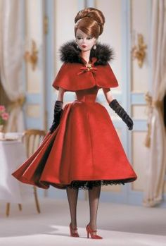 Ravishing in Rouge™ Barbie® Doll | The Barbie Collection