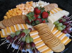 Creative Cheese tray design
