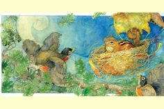 some really awesome artwork? Try going through Jerry Pinkney's art ...