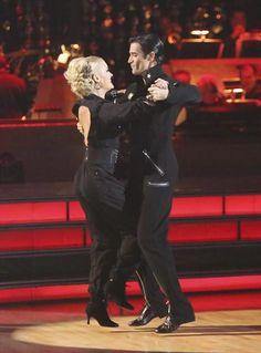 Dancing With The Stars Season 15 Fall 2012 Gilles Marini and Peta Murgatroyd Quickstep