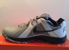 63ab20f46c4b Details about Nike Air Marvin Low Men s Basketball Shoes Sz 8 Grey Black  White 719924 005 NEW