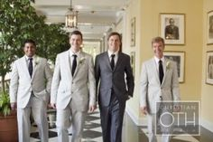 Going to the Chapel... this will be Ross and his groomsmen!