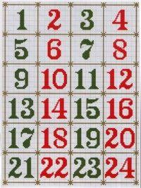 Sokféle keresztszemes számok  és  betűk---http://artmanuais.com.br/ponto_cruz/alfabeto1.html