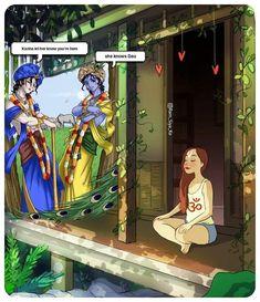 Krishna Mantra, Radha Krishna Love Quotes, Cute Krishna, Lord Krishna Images, Krishna Photos, Krishna Art, Radhe Krishna Wallpapers, Lord Vishnu Wallpapers, Lord Ganesha Paintings