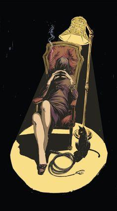 Selina Kyle by •Vanessa Del Rey
