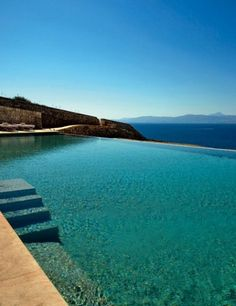 The infinity pool at the Cap Rocat hotel, which occupies a 19th-century fortress in Majorca. Photo courtesy of Cap Rocat