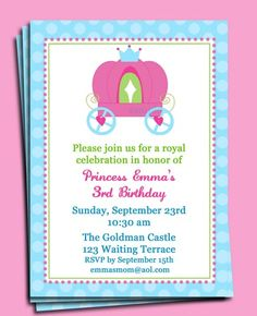 147 best girl birthday invitations ideas images on pinterest girl