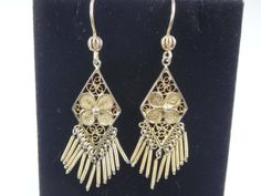 Hey, I found this really awesome Etsy listing at https://www.etsy.com/listing/213988094/vintage-filigree-silver-earrings-800