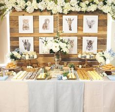🦁🐯🙉 I had the pleasure of styling this beautiful SAFARI inspired dessert buffet for the lovely Simone who is expecting her first baby, a little boy, in a few weeks time. Featuring my new wooden pallet backdrop! Desserts: @the_aesthetic_styling_co props and styling: @the_aesthetic_styling_co photography: @the_aesthetic_styling_co #evedeso #eventdesignsource - posted by THE AESTHETIC STYLING CO https://www.instagram.com/the_aesthetic_styling_co. See more Event Designs at http://Evedeso.com