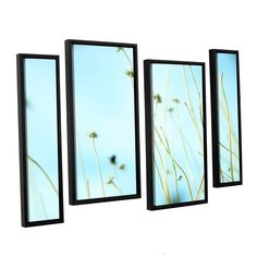 30 Second Daydream by Mark Ross 4 Piece Floater Framed Photographic Print on Canvas Set