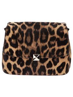 VALENTINO - leopard print shoulder bag