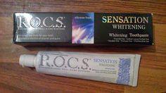 Testimony1990 - Beauty, Boxen, Food, Familie und Produkttests: R.O.C.S Whitening Zahnpasta