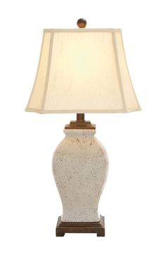 The lovely ceramic table lamp