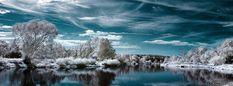 Winter Lake Facebook Cover   fbCoverLover com
