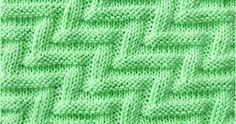 The labyrinth stitch is not complex but requires quite concentration. Just knit and Purl. Both sides are the same