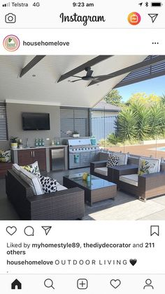 Retractable and roll-up canopies provide the owner the option of fully extending the shade during summer season and rolling it up during the winter. #outdoorremodeling