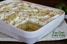 Melissa's Southern Style Kitchen: Key Lime Poke Cake