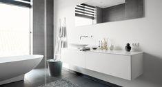 Bad med wauw-effekt i Stensballe | JKE Design