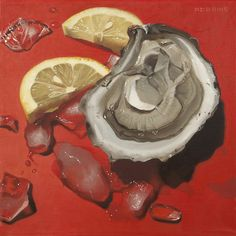 Oyster Lemon Ice  - Nadine Robbins