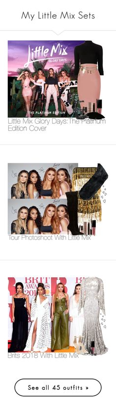 """My Little Mix Sets"" by laurenbeth15 ❤ liked on Polyvore featuring Again, Smashbox, Moschino, Laura Mercier, Giuseppe Zanotti, Luv Aj, littlemix, jadethirlwall, JesyNelson and perrieedwards"