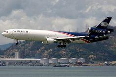 World Airways, McDonnell Douglas MD-11F, N276WA, Hong Kong International