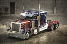 """If you love to drive big trucks as much as we do, then you might want to know a full-size stunt truck from the """"Transformers"""" movies is up for sale at auction. Sadly it does not actually turn into a big honkin' robot, but it sure is a pretty truck! http://www.drivebigtrucks.com"""