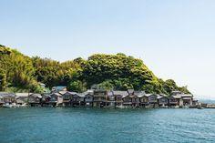 伊根町 (京都) 伊根の舟屋