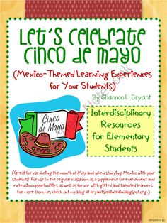 Let's Celebrate Cinco de Mayo! (Mexico-Themed Lessons) from Bryants Brain Train on TeachersNotebook.com (79 pages)
