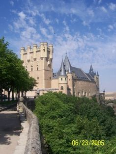Castle in Segovia was straight out of a fairy tale!