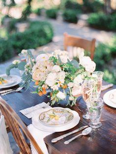 Photography: Ashley Slater - www.ashleyslaterphotography.com  Read More: http://www.stylemepretty.com/california-weddings/2015/06/17/romantic-playful-california-winery-wedding-inspiration/