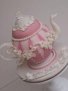 High tea - by cakesalouisa @ CakesDecor.com - cake decorating website