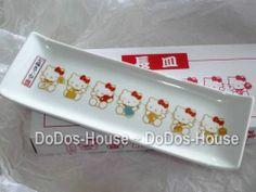 Sanrio Japan Hello Kitty Cupcake Plate Long ceramic plate Dish