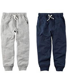 950de92f53c5 Carter s Toddler Boys 2 Pack French Terry Active Jogger Pants