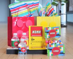 Free Lego Printable Party Kit |Persnickety Prints