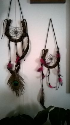 My own horse shoes dream catchers
