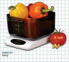 Digital Kitchen Scale by Gram Precision. $44.95. Large Digital Display. Dual weighing mode grams and ounces. Battery saving auto on/off function. Weighs up to 5000 grams in 2 gram increments. Large scale platform. Equipped with a large quart bowl for both dry and liquid measures as well as a dual weighing mode, both in grams and ounces, the SW-CR152 provides high versatility in its compact and stylish design. Made of durable high impact ABS styrene, this model i...