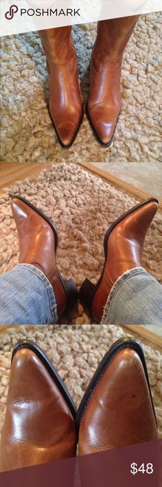 Steve Madden western boots Worn in great condition I wear 8.5/9 Steve Madden Shoes