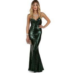 Ivy Green Siren Dress