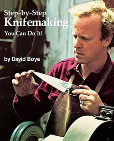 knife making - one of my favorite books Cool Knives, Knives And Swords, Blacksmithing Knives, Forging Knives, Knife Making Tools, Diy Knife, Blacksmith Forge, Metal Projects, Outdoor Projects
