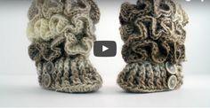 How to Crochet Baby Booties - https://crochetblog.net/how-to-crochet-baby-booties/