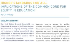 #commoncore for equity in #k12 #education