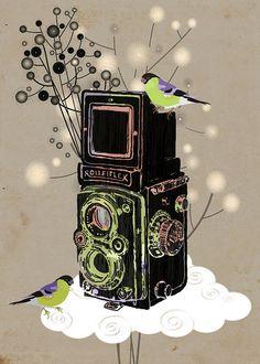 vintage-camera-rolleiflex by Sevenstar aka Elisandra, via Flickr
