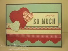 SU! Hearts a Flutter stamp set and Framelits (sneak peak) - Sandy Mathis