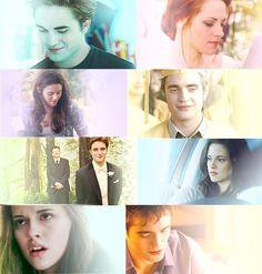 Twilight Saga ~ Edward and Bella Bella And Edward Wedding, Edward Bella, Edward Cullen, Twilight New Moon, Twilight Movie, Twilight Saga Series, Mackenzie Foy, Twilight Pictures, Fantasy Films