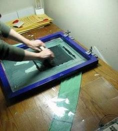 Make Your Own Silk-screen T-Shirts