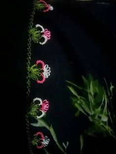 Needle Source by sumeyyenurkl Knitting Needles, Knitting Socks, Crochet Edging Tutorial, Crochet Bedspread, Knit Shoes, Needle Lace, Lace Making, Knitted Shawls, Crochet Flowers